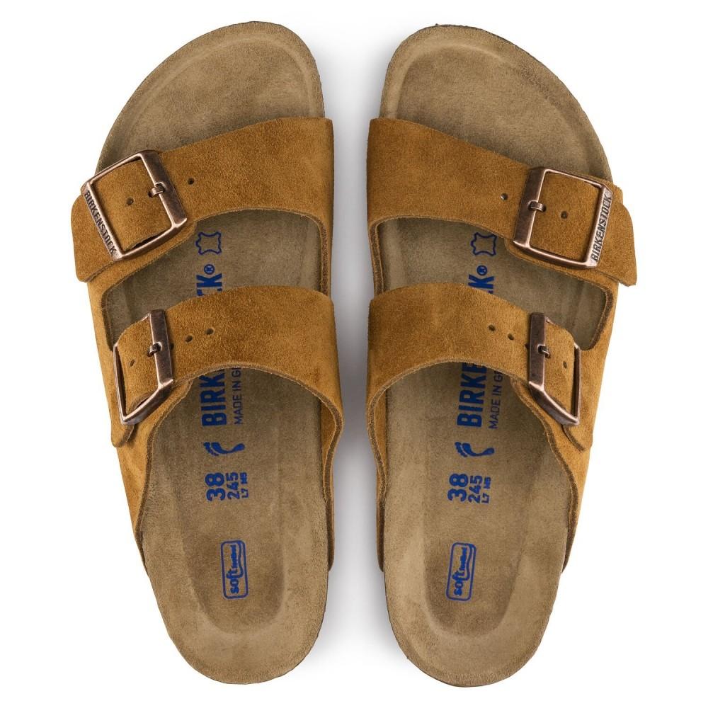 Birkenstock Arizona Dame Sandal Suede Leather-31