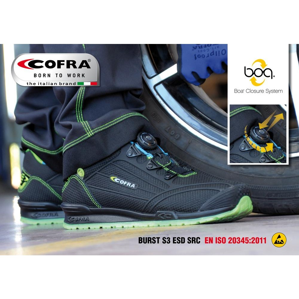 COFRA 7800 Burst Sikkerhedssko-31
