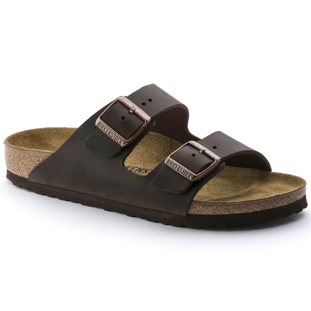 Birkenstock Arizona Herre Sandal Habana Oiled Leather-31