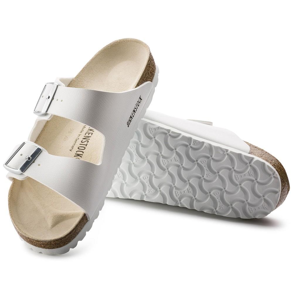 Birkenstock Arizona Dame Sandal Hvid Birkoflor-31