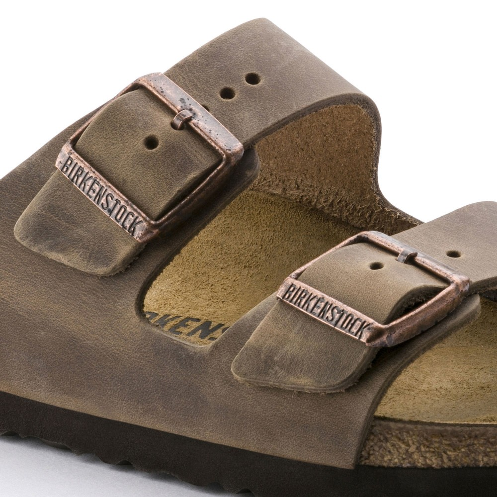 Birkenstock Arizona Dame Sandal Tobacco Oiled Leather-31