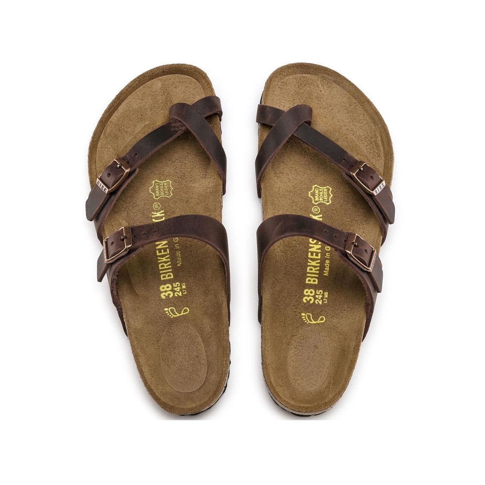 Birkenstock Mayari Dame Sandal Habana Oiled Leather-31