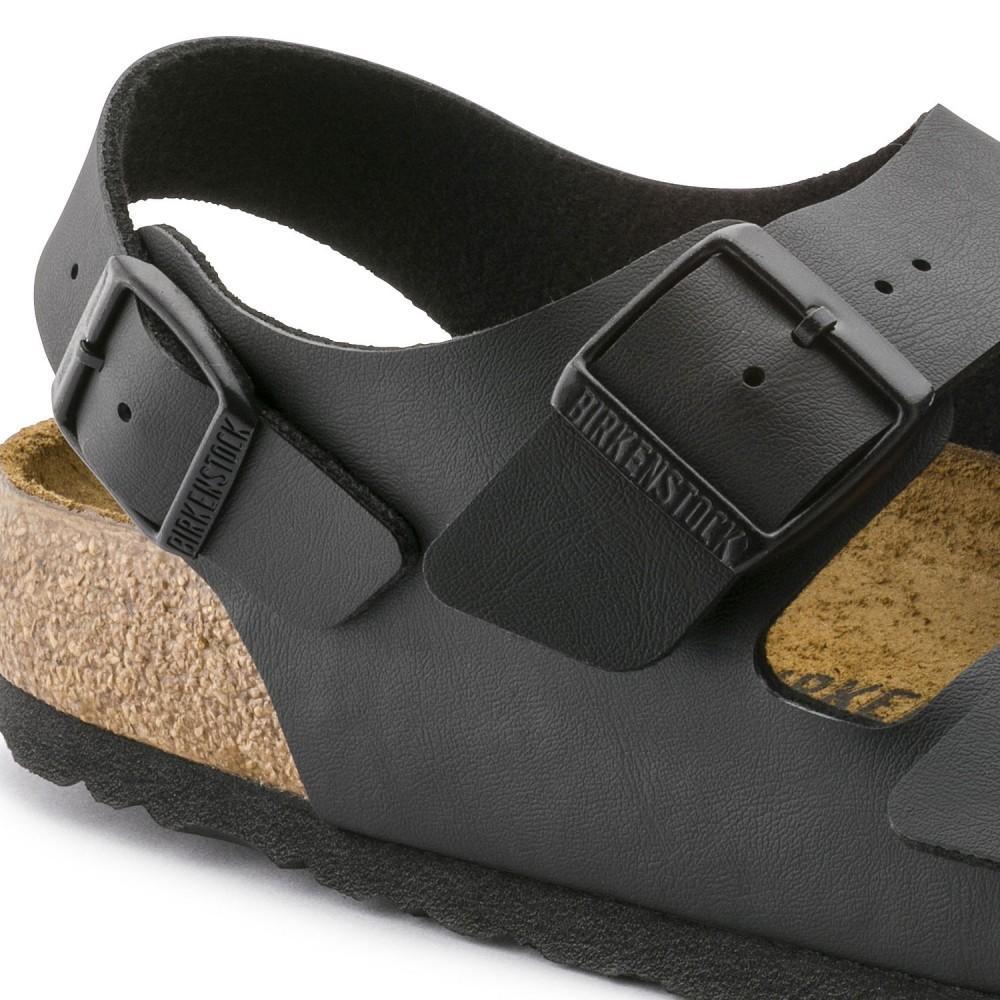 Birkenstock Milano Dame Sandal Sort Birkoflor-31