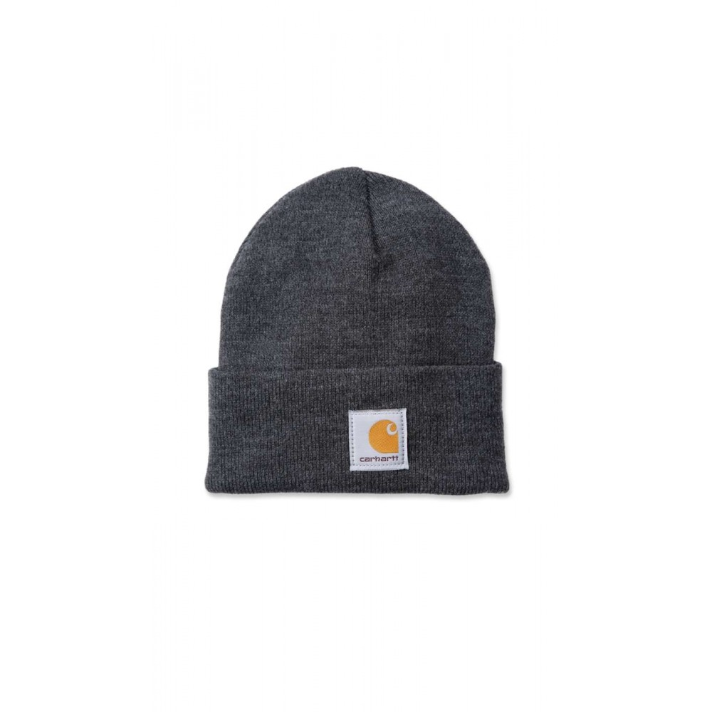CARHARTT ACRYLIC WATCH HAT CHARCOAL HEATHER-31
