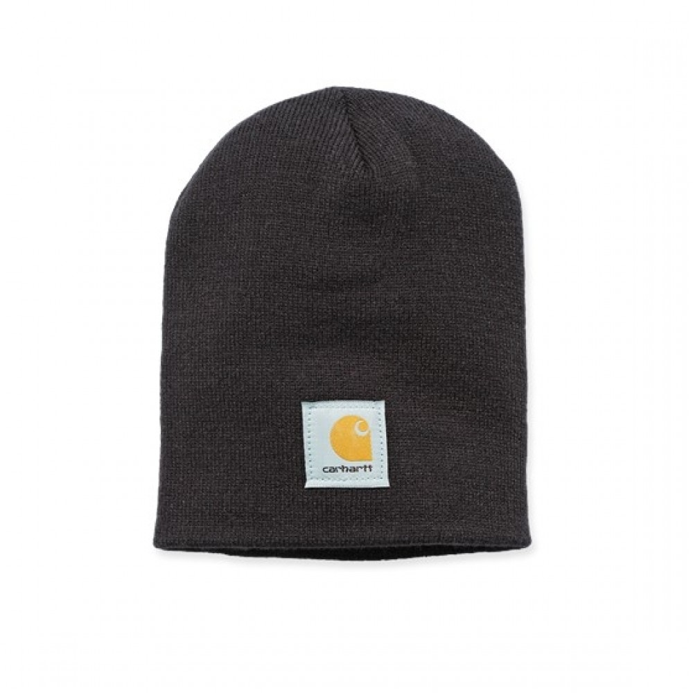 CARHARTT ACRYLIC KNIT HAT BLACK-31
