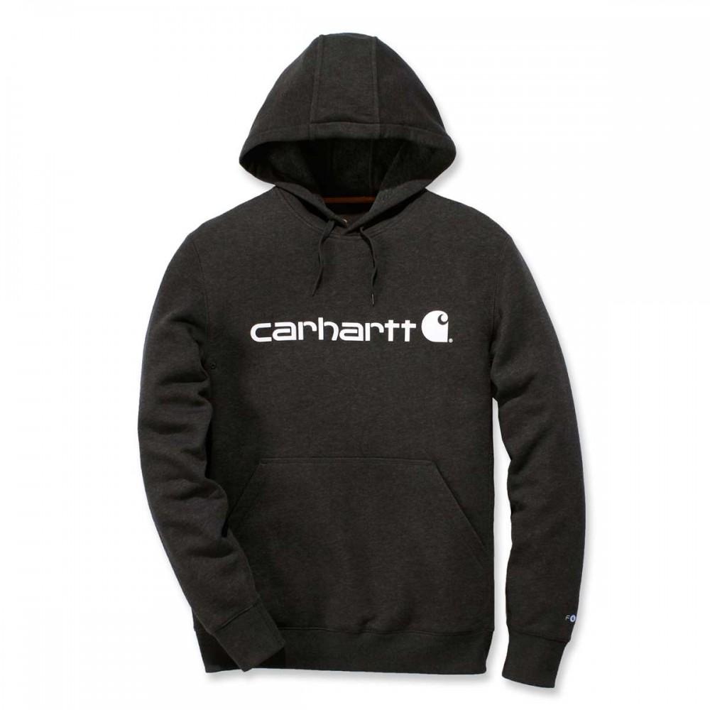 CARHARTTDELMONTGRAPHICHOODEDSWEATSHIRTnavyheather-31