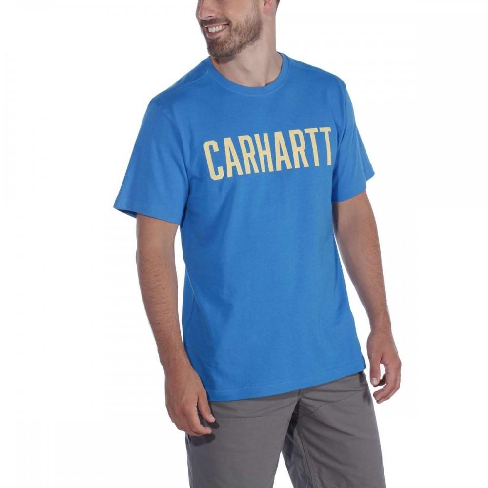CARHARTTCARHARTTSOUTHERNBLOCKLOGOTSHIRTSSBOLTBLUE-31