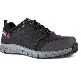 REEBOK BLACK LEATHER OXFORD Sikkerhedssko-20