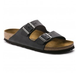 Birkenstock Arizona Herre Sandal Sort Oiled Leather-20