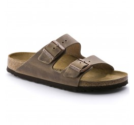 Birkenstock Arizona Dame Sandal Tobacco Oiled Leather-20