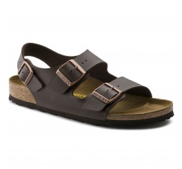Birkenstock Milano Herrer Sandal Habana Neutral Leather-20