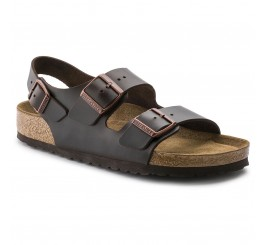 Birkenstock Milano Dame Sandal Habana Neutral Leather-20