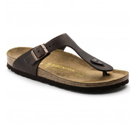 Birkenstock Gizeh Dame Sandal Habana Oiled Leather-20