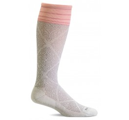 SOCKWELL SW70W-015 The Raj natural Kompressionsstrømpe-20