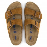 Birkenstock Arizona Dame Sandal Suede Leather-01