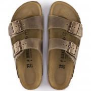 Birkenstock Arizona Dame Sandal Tobacco Oiled Leather-01
