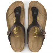 Birkenstock Gizeh Dame Sandal Habana Oiled Leather-02