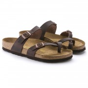 Birkenstock Mayari Dame Sandal Habana Oiled Leather-01