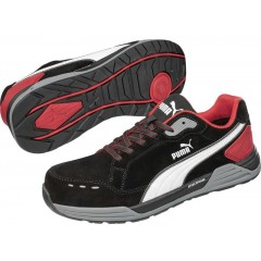 PUMA 64463 AIRTWIST BLACK RED LOW