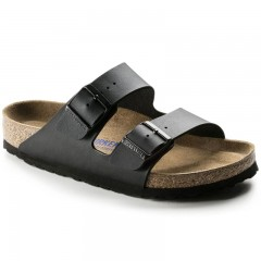 Birkenstock Arizona Dame Sandal Sort Oiled Leather