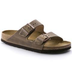 Birkenstock Arizona Dame Sandal Tobacco Oiled Leather