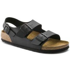 Birkenstock Milano Dame Sandal Sort Birkoflor