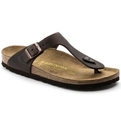 Birkenstock Gizeh Dame Sandal Habana Oiled Leather