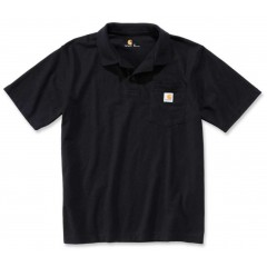 Carhartt Polo T-shirt sort