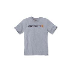 CARHARTT CORE LOGO T-SHIRT S/S HEATHER GREY