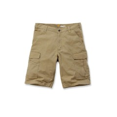CARHARTT RIGBY RUGGED CARGO SHORT DARK KHAKI