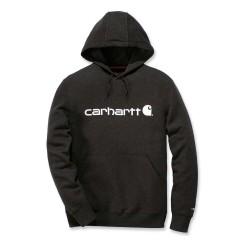 CARHARTT DELMONT GRAPHIC HOODED SWEATSHIRT navy heather