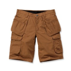 CARHARTT STEEL MULTIPOCKET SHORT CARHARTT® BROWN