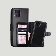 iPhone 11 Sort flip cover og screen protector
